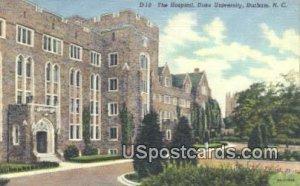 Hospital, Duke University in Durham, North Carolina