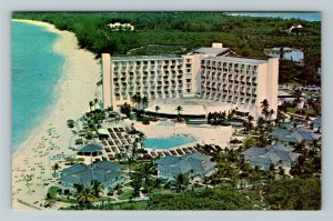 Paradise Island Resort In Nassau In The Bahamas Chrome Postcard