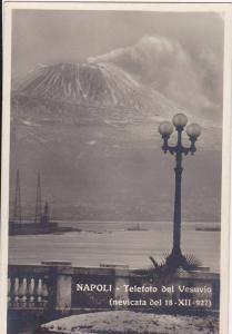 RP: NAPOLI , Italy , 00-10s - Telefoto del Vesuvio
