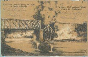 79905 - Polen POLAND - Ansichtskarten  VINTAGE POSTCARD - WARSAW  1916 - Bombing