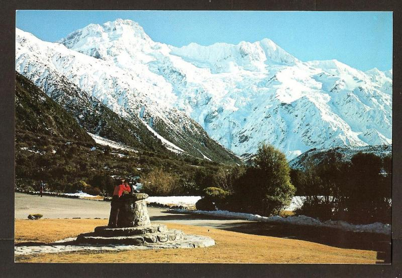 NEW ZEALAND POSTCARD MT.SEFTON
