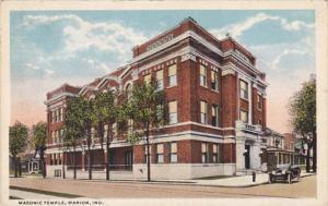 Indiana Marion Masonic Temple 1917