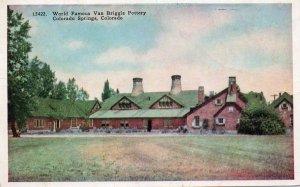 11246 Van Briggle Pottery, Colorado Springs, Colorado
