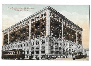 Royal Alexandra C P R Hotel Winnipeg Manitoba Canada