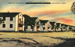 Lackland Air Force Base San Antonio TX 1949, Missing Stamp