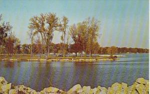 Ohio Ft Loramie Autumn View Of Lake Loramie
