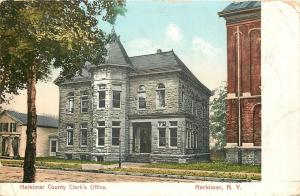 Herkimer New York~Herkimer County Clerk's Office~Home Next Door~1907