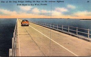 FLorida Keys One Of The Long Bridges