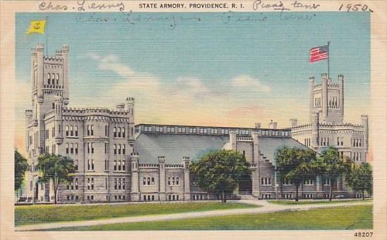 State Armory Providence Rhode Island 1950