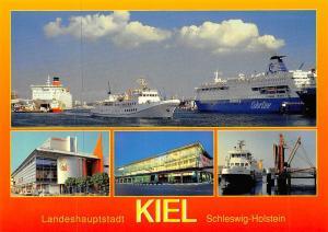 Landeshauptstadt Kiel Zwischen Land und Meer Hafen Schiff Ship Port