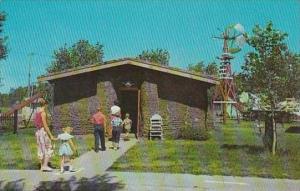 Nebraska Minden See Pioneer Village Sod House At Pioneer Village 1961