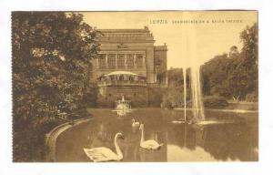 Leipzig , Germany, 00-10s Schwanenteich u. Neues THEATER