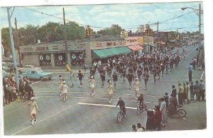 Senior High School Band, Memorial Day Parade, Hazel Park, Michigan, 1940-1960s