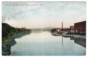 Lawrence, Mass, View on the Merrimack River