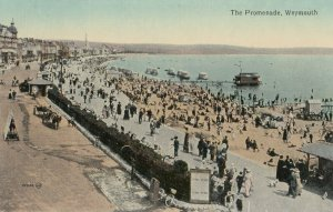 WEYMOUTH , England , 1900-10s ; The Promenade