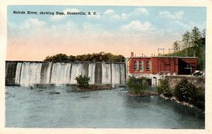 SC - Columbia. Saluda River, Dam