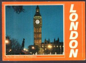 Big Ben and House of Parliament,London,England,UK BIN