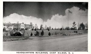 NJ - Camp Kilmer. Headquarter Buildings