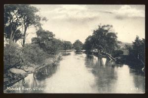 Utica, New York/NY Postcard, Mohawk River