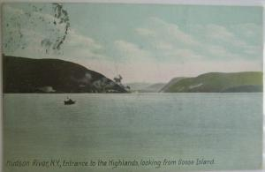 Entrance To The Highlands From Goose Is Hudson River NY 1907