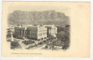 Cape Town , Parliament House & Table mountain, South Africa , Pre-1907