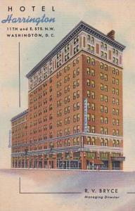 Washington DC Hotel Harrington
