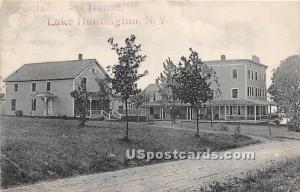 Mountain Rest House Lake Huntington NY 1910