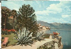 Switzerland, Suisse, Brissago, Lago Maggiore, 1958 used