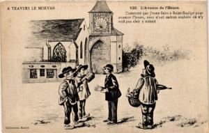 CPA France - Folklore - A Travers Le Morvan - L'Avance de l'Heure (771025)