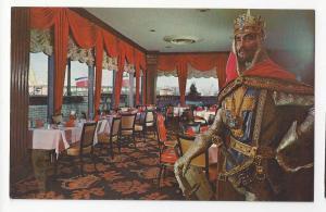 NY Sheraton Motel Crown Room New York City Vtg Postcard
