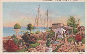Alabama Mobile Jesters Rock Garden In Arlington Park Curteich