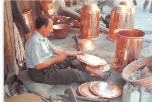 BR4703 Coppersmith Market Baghdad   iraq types folklore