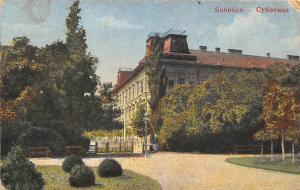 Serbia Subotica Technical School? College University Building Entrance 1933