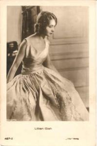 Lillian Gish Actor / Actress Movie Star Unused light wear