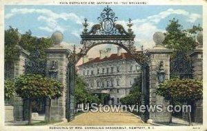 Residence of Mrs. Cornelius Vanderbilt - Newport, Rhode Island