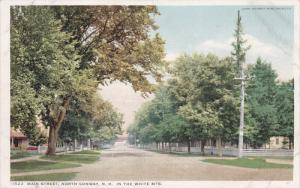 Main Street, In The White Mountains, NORTH CONWAY, New Hampshire, 1910-1920s