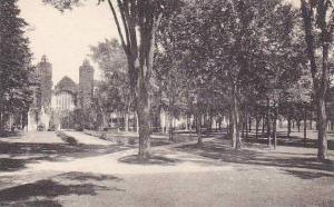 Maine Lewiston Chapel And Campus Bates College Albertype