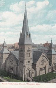 WINNIPEG , Manitoba, Canada , 1909; Knox Presbyterian Church