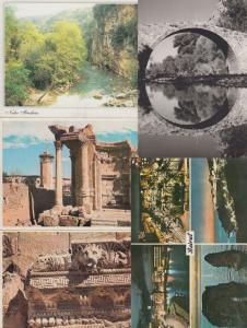 LIBAN LEBANON 15 CARTES POSTALES (mostly 1970-2000) INCLUS VOYAGÉE