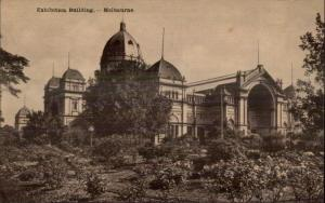 Melbourne Australia Exhibition Bldg c1910 Postcard