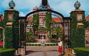 Entrance to Florida State University - Tallahassee FL, Florida