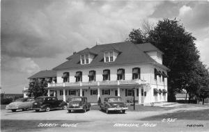1940s Surrey House Autos Harrison Michigan RPPC real photo postcard 7605