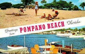 Florida Greetings From Pompano Beach