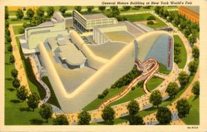 NY - New York World's Fair, 1939. General Motors Building