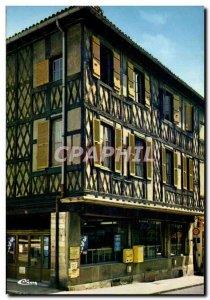 Modern Postcard Tournus The House of Wood