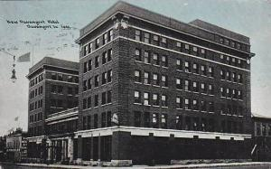 New Davenport Hotel, Davenport, Iowa, PU-1909