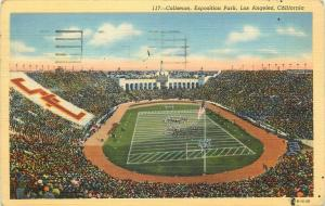 United States coliseum exposition park Los Angeles California stadium