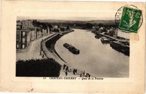 CPA   Chateau-Thierry- Quai de la Poterne  (202548)