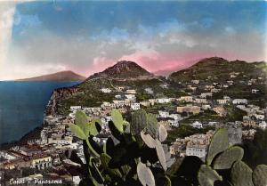 Italy Capri Panorama general aerial view