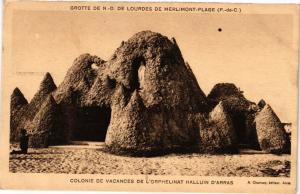 CPA Grotte de N.-D. de Lourdes de Merlimont-Plage-Colonie de Vacances (44050)